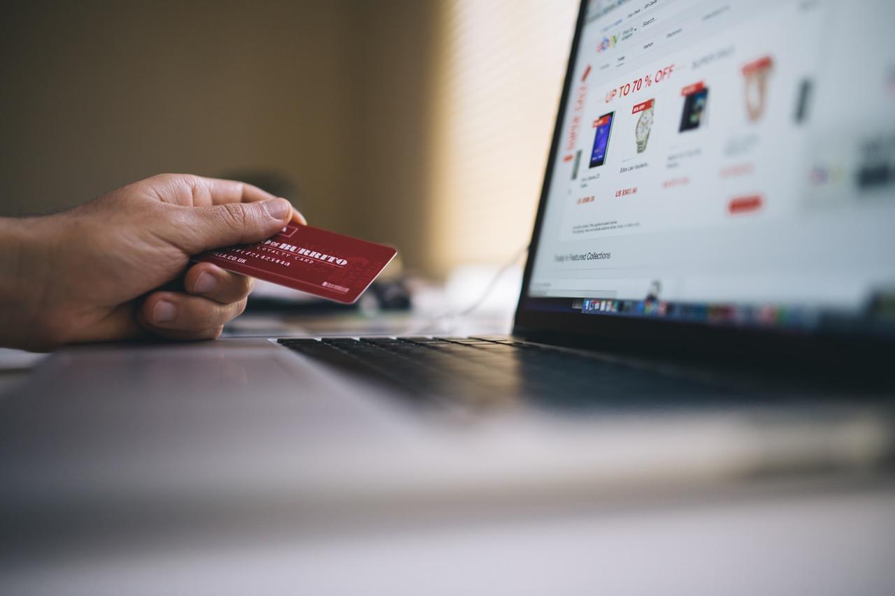 online bank credit card