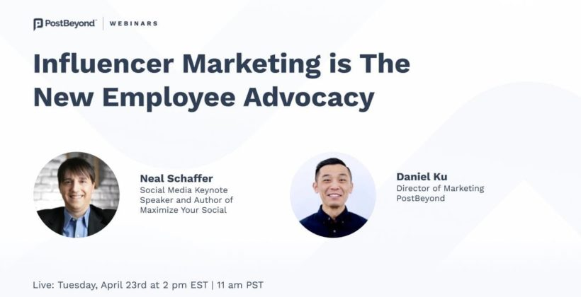 The Convergence of Influencer Marketing and Employee Advocacy