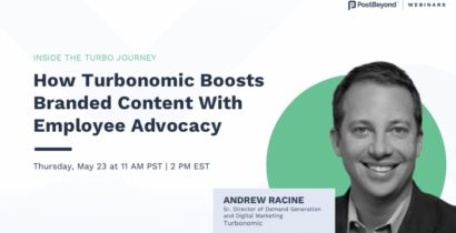 Upcoming Webinar: Lessons From An Employee Advocacy Trailblazer