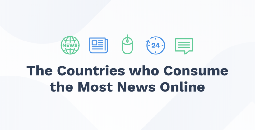 The Countries Who Consume the Most News Online
