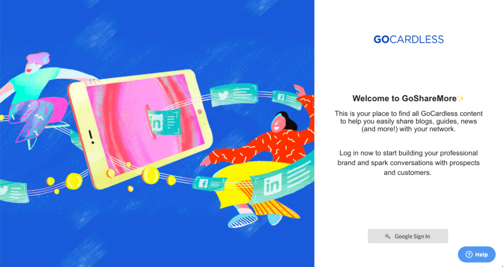 GoCardless Employee Advocacy Platform