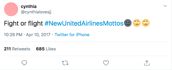 United Airlines marketing
