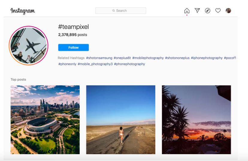 Google Brand Advocacy on Social Media example