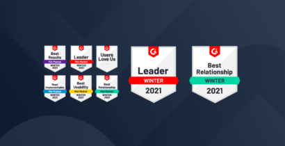 PostBeyond Named Leader on G2's Winter 2021 Awards For Employee Advocacy