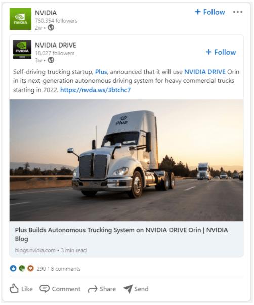 Nvidia employee advocacy