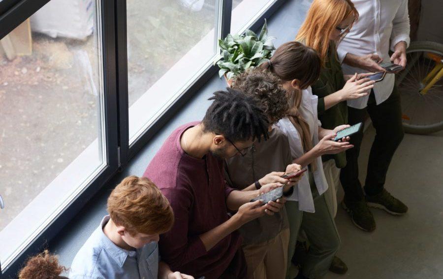social media devices